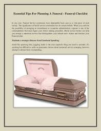funeral planning checklist essential tips for planning a funeral funeral checklist