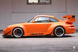 widebody porsche 911 911 not scary enough this one has a corvette v8