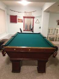 brunswick monarch pool table antique brunswick balke collender monarch cushion pool table
