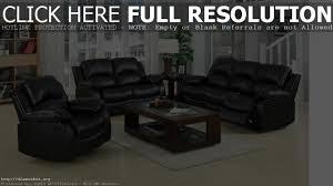 Black Recliner Sofa Set Black Leather Reclining Sofa Set Comfortable And Unique Sofas
