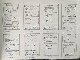 case study mobile app ui design process u2013 prototypr