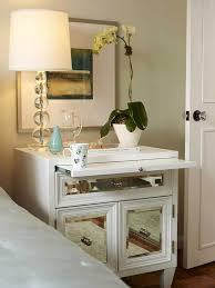 Mirrored Nightstand Cheap 10 Best Mirrored Bedside Table Images On Pinterest