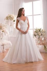 wedding dress glasgow f171010 v neck organza wedding dress with beading