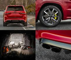 jeep hawk track jeep grand cherokee trackhawk is the quickest and most powerful