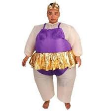 imported funny inflatable japanese sumo wrestler fat suit child