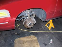 ford crown victoria brake pad replacement