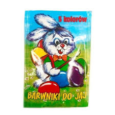 easter egg coloring kits 5 colors orange blue yellow green
