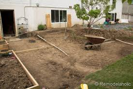 How To Build A Cement Patio Remodelaholic Diy Concrete Patio Part One