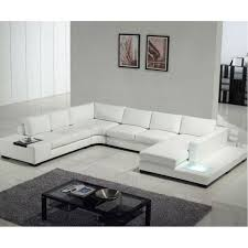 U Sectional Sofas by Furniture Modern Large Leather Sectional Sofa U Shaped With
