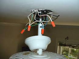 replace ceiling fan with light installing a ceiling fan without existing wiring electricians