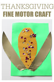 motor craft thanksgiving corn no time for flash cards