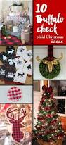10 buffalo check plaid christmas ideas u2014 weekend craft