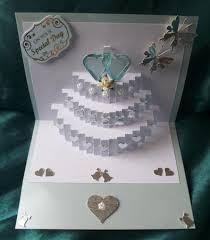 3 tier wedding cake pop up insert cup691888 596 craftsuprint