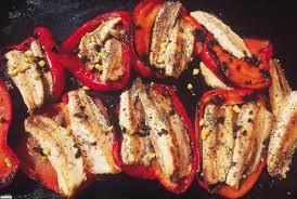 cuisiner poivron des poivrons et des sardines une recette estivale plancha la