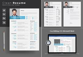 Resume Pro 20 Professional Ms Word Resume Templates With Simple Designs