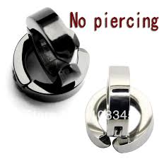 clip on earrings for men cuff box picture more detailed picture about mens non pierced