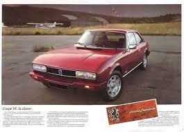 peugeot pininfarina peugeot 504 coupé pininfarina 1983 brochure u2013 the marquis