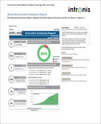 11 sample executive report formats free u0026 premium templates