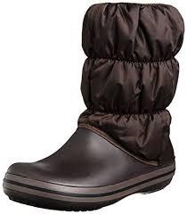 ebay womens winter boots size 9 crocs s winter puff boot 14614 22z espresso size 6 ebay
