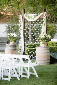 Rustic Backyard Wedding Ideas Best 25 Backyard Wedding Ideas On Pinterest Backyard