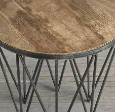 restoration hardware martini table this is restoration hardware side table for house ideas