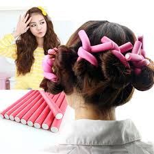 accessories for hair 10pcs women diy curlers accessories for hair soft foam styling