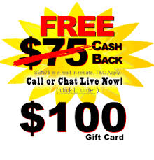 gift card specials dish network rebates and specials 100 gift card