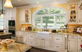 modern country cottage kitchen shabby white wooden kitchen