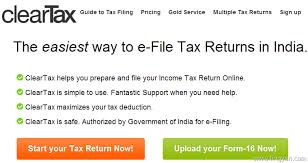 itr best efiling websites to file tax
