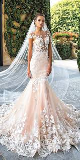 blush wedding dress 42 alluring blush wedding dresses that would him blushing all