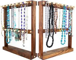 jewelry necklace holder stand images Standing necklace tree holders and bracelet holders for sale by jpg