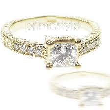 princess cut gold engagement rings your unforgettable wedding cheap yellow gold princess cut