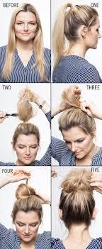 Casual Frisuren Lange Haare by Get 5 Buns To Try Right Away Haarstyling Frisur Und Haar