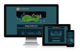 halloween website templates halloween newsletter template cakemail
