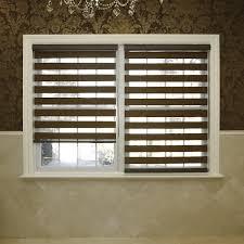 amazon com best home fashion premium duo wood look roller window