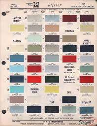 austin paint chart color reference