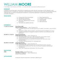 Finance Resume Examples by Best Payroll Specialist Resume Example Livecareer