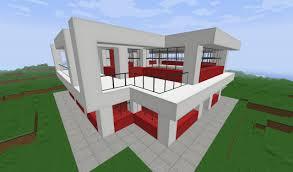 tiny modern house minecraft interior design