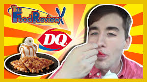 dairy queen baked apple tart a la mode the food review ep 35 youtube