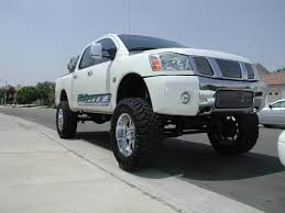 lifted nissan frontier white 8