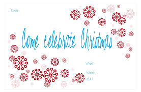 christmas party invitations 15 free christmas party invitations that you can print