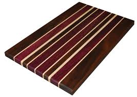 eyrieatomy eyrieatomy cutting board walnut purple heart
