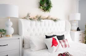 christmas bedroom decor