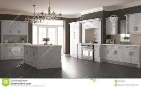 classic kitchen scandinavian minimal interior design with woode