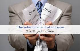 Example Of A 30 Day Notice The Solution To A Broken Lease The Buy Out Clause The Reluctant