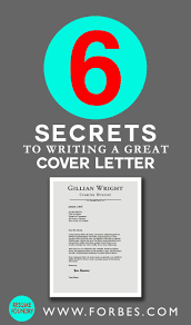 how to write a cover letter for a resume examples best 25 cover letter for resume ideas on pinterest template for 6 secrets to writing a great cover letter