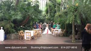 franklin park conservatory wedding and franklin park conservatory wedding ceremony and