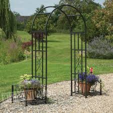 Metal Garden Arches And Trellises Metal Garden Arch Gardens And Landscapings Decoration