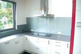 cuisine en verre blanc credence en verre cracdence de cuisine en verre laquac blanc