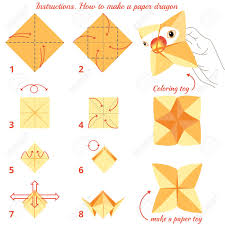 Step By Step Origami For - how to make paper bird origami tutorial step by